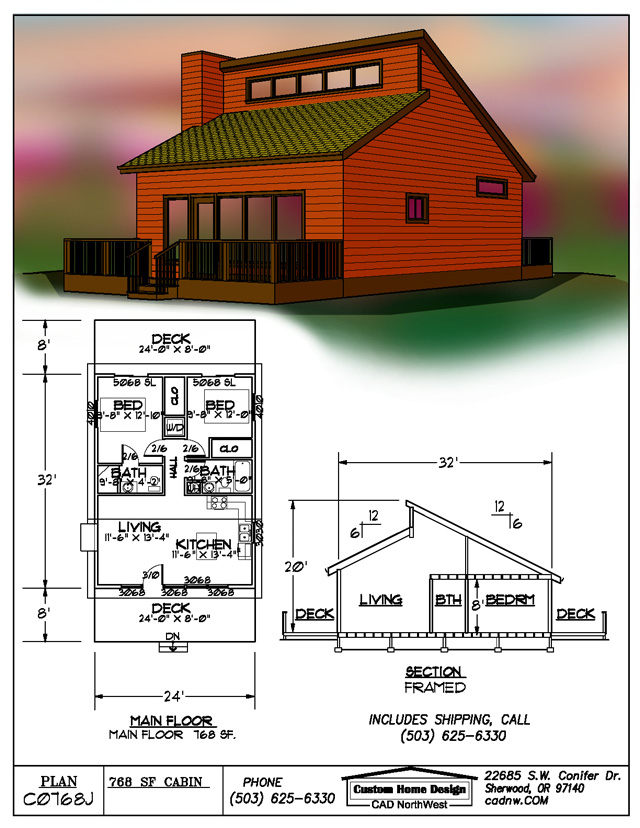 Detroit oregon cabins for Cost to build 1500 sq ft cabin
